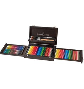 Faber-Castell - Art & Graphic Collection, wooden case, 125 pieces