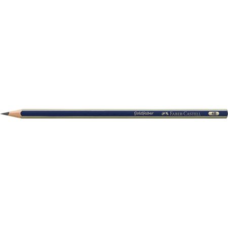 Faber-Castell - Goldfaber 1221 graphite pencil, 4B