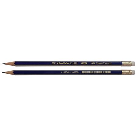 Faber-Castell - Graphite pencil Goldfaber with eraser HB