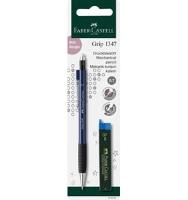 Faber-Castell - Grip 1347 mechanical pencil set, 0.7 mm, 2 pieces