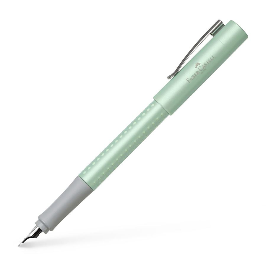 Faber-Castell - Fountain pen Grip Pearl Edition M mint