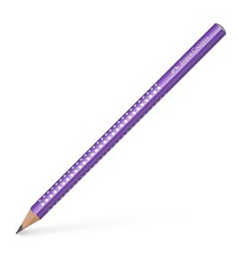 Faber-Castell - Jumbo Sparkle graphite pencil, purple