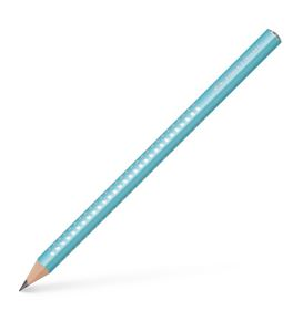 Faber-Castell - Jumbo Sparkle graphite pencil, turquoise