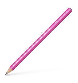 Faber-Castell - Jumbo Sparkle graphite pencil, pink