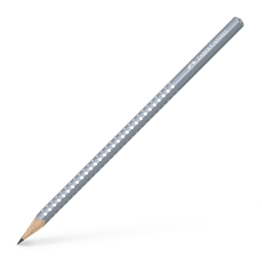 Faber-Castell - Sparkle graphite pencil, pearl grey