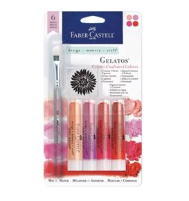 Faber-Castell - Gelatos Colors-Red
