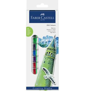 Faber-Castell - Starter set oil colours 12ct box