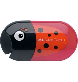 Faber-Castell - Taille-crayon et gomme coccinelle