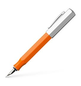 Faber-Castell - Fountain pen Ondoro precious resin orange medium