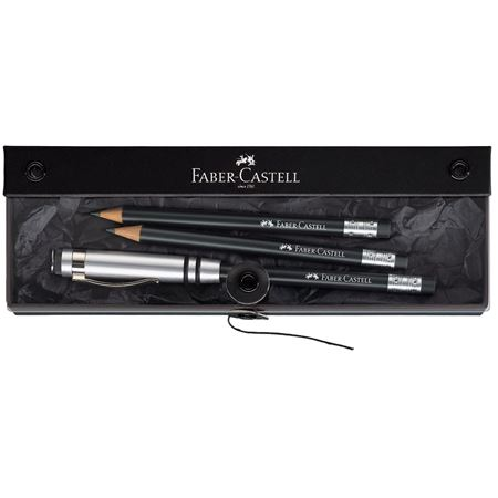 Faber-Castell - Perfect pencil DESIGN black gift set