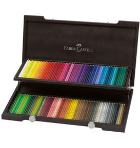 Faber-Castell - Colour Pencil Polychromos wood case of 120