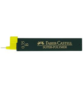 Faber-Castell - Super-Polymer fineline lead, B, 0.35 mm