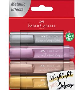 Faber-Castell - Highlighter TL 46 metallic wallet 4